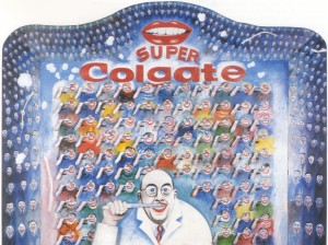 Thomas Bayrle: Super Colgate, 1965