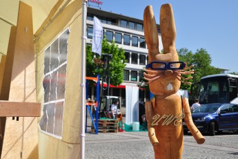 Hasenfigur aus Holz