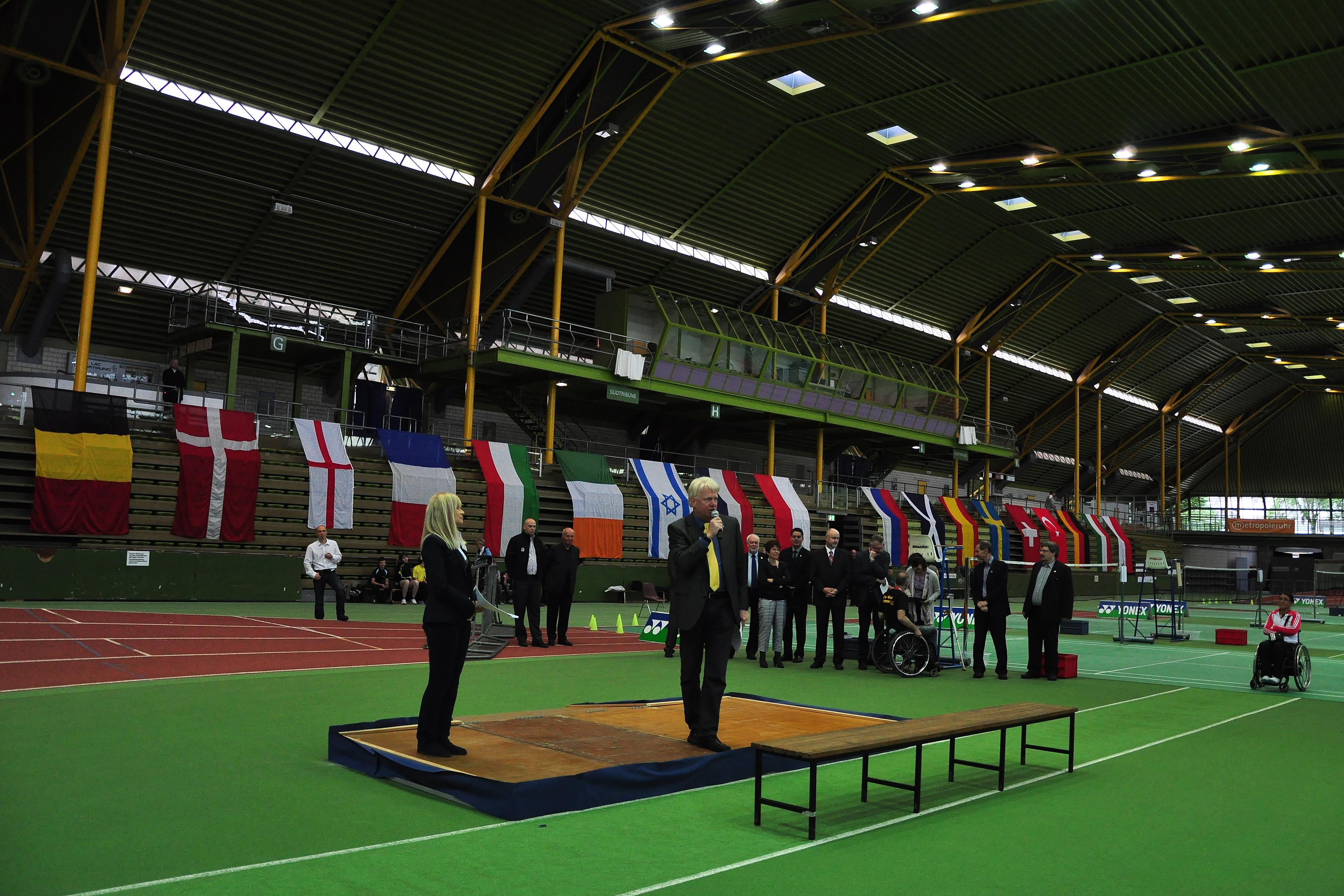 Badminton Halle Dortmund
