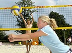 Beachvolleyball im Westfalenpark