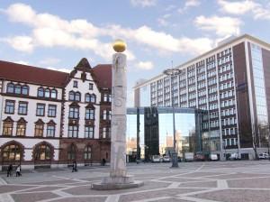 Berswordthalle und altes Stadthaus