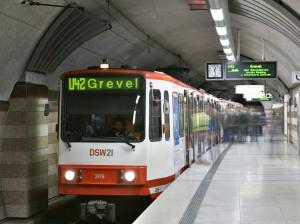 U42 in Richtung Grevel