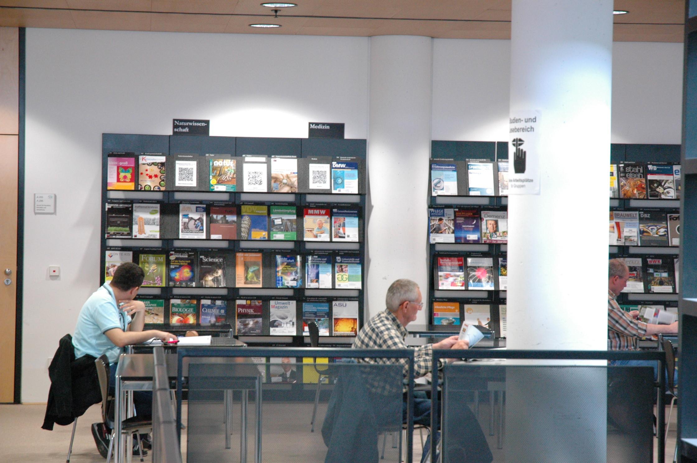 Zeitschriften - Zentralbibliothek - Stadt- und Landesbibliothek ...