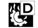 Piktogramm der Brandklasse D