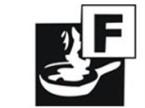 Piktogramm der Brandklasse F