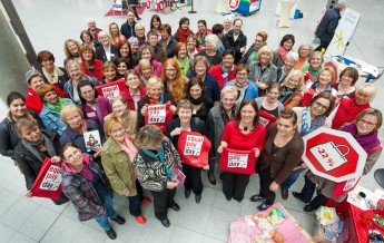 Bilderstrecke: Aktionstag Equal Pay Day 2014