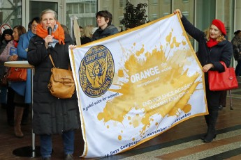 Banner #orangetheworld Soroptimist International
