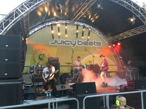 "Die Band ""The Day"" bei Juicy Beats 2018"