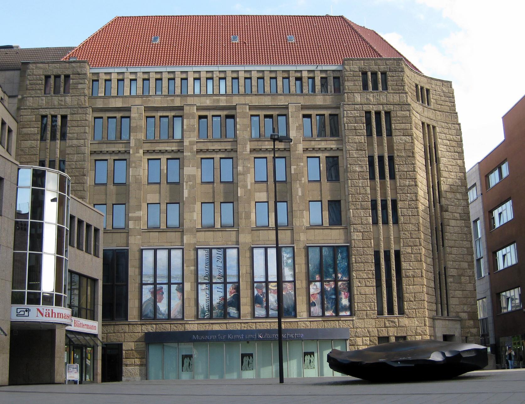 Kurzportrat Das Museum Museum Fur Kunst Und Kulturgeschichte Museen Freizeit Kultur Tourismus Stadtportal Dortmund De