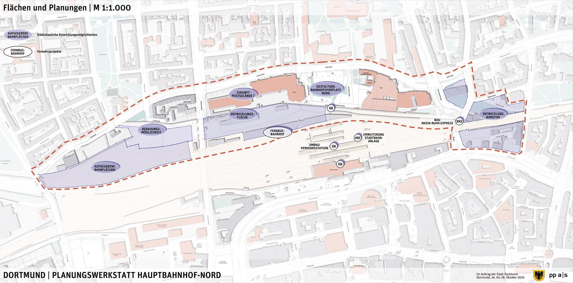 Planungswerkstatt HbF Hauptbahnhof Umfeld Nord Offenes Rathaus
